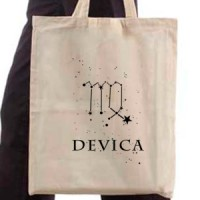 Shopping bag T-shirt zodiac Virgo sign