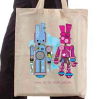 Shopping bag Take Us To Your Leader