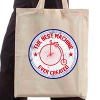 Shopping bag The Best Machine