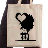 Shopping bag The motive for Valentine's Day 27