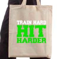 Shopping bag Train Hard