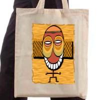 Shopping bag Tribal Mask