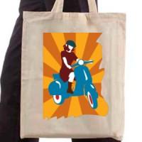 Shopping bag Vespa Girl