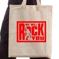 Shopping bag We Will Rock You | Rock