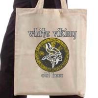 Shopping bag White Viking Beer