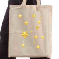 Shopping bag With stars