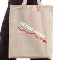 Shopping bag Zezam Crisis