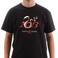 T-shirt 2013 Year Of The Snake