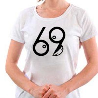 T-shirt 69 smile