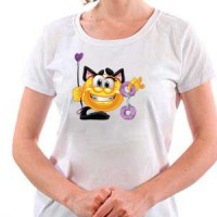 T-shirt Adult Smiley