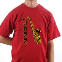 T-shirt And Sax Jazz