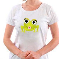 T-shirt Baby Frog