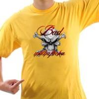 T-shirt Bad Muthafucka