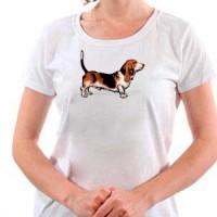 T-shirt Basset