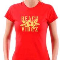 T-shirt Beach vibez