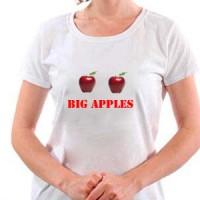 T-shirt Big apples.