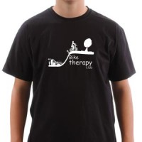 T-shirt Bike Therapy