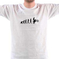 T-shirt Biker Evolution