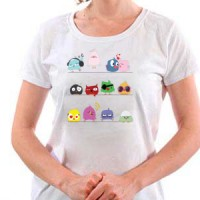 T-shirt Birds 4 Girls