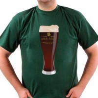T-shirt Black Irish Beer