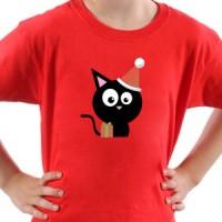 T-shirt Black Pussy