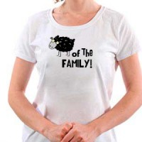 T-shirt Black Sheep Of The Family