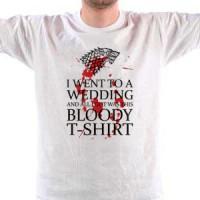 T-shirt Bloody White T-Shirt