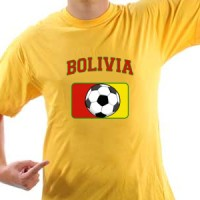 T-shirt Bolivia Football