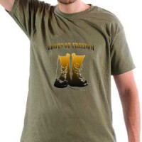 T-shirt Boots Of Freedom