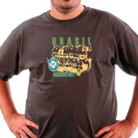 T-shirt Brasil Football