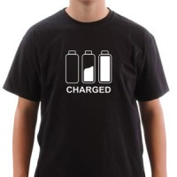 T-shirt Charged