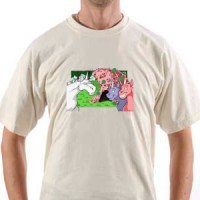 T-shirt Charlie The Unicorn