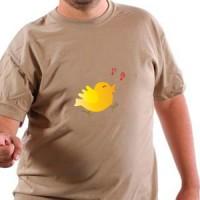 T-shirt Cheerful Little Bird