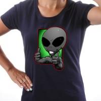 T-shirt Cool Alien