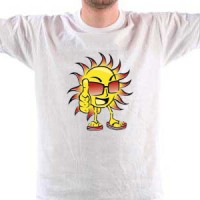 T-shirt Cool Sun