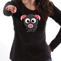 T-shirt Cute Little Piggy
