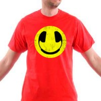 T-shirt Dirty Smiley