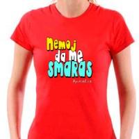 T-shirt Do Not Me Smaras