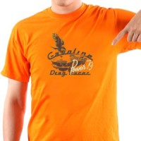T-shirt Drag Racer Car