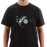 T-shirt Drums & Bass For Real
