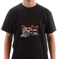 T-shirt Drums Drums