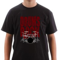 T-shirt Drums Rock Drums