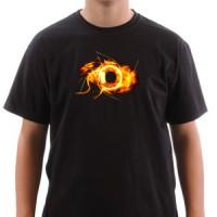 T-shirt Eye On Fire