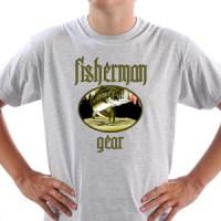T-shirt Fisherman Gear