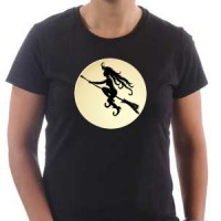 T-shirt Full Moon Witch