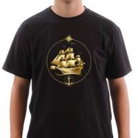 T-shirt Golden Boat