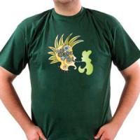 T-shirt Green punk