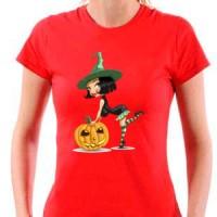 T-shirt Halloween Witch