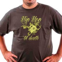 T-shirt Hip Hop Til Death