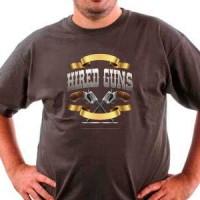 T-shirt Hired Guns